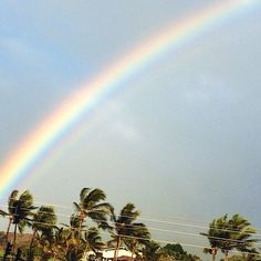 #maui #rainbow photo by happymundane on Instagram