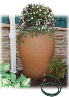 Few things are as frustrating to gardeners as planting beautiful gardens and then facing a season of drought and water restrictions. Rain barrels are one effective way to conserve water in the garden. Help your landscape fight drought with these tips from The Home Depot's Garden Club.