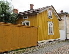 Vanha Rauma Scandinavian Design, Old Houses, Finland, Shed, Villa, Outdoor Structures, Places, Old Homes, Old Mansions