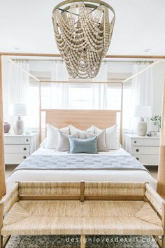 A look at my New Bedding for Spring! Coastal Master Bedroom, Master Bedroom Design, Bedroom Decor, Bedroom Ideas, Bedroom Styles, New Room, Decoration, Bedding, Spring Design