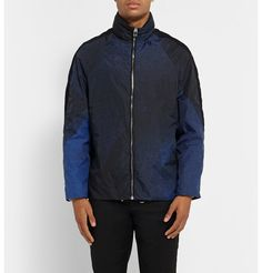 BalenciagaPrinted Windbreaker Jacket