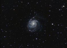 M101 The Pinwheel Galaxy 11 hours HaLRGB