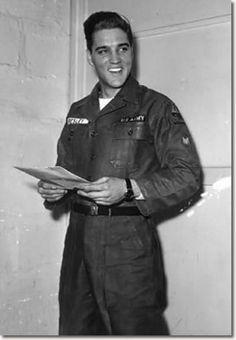 Elvis Presley In The U.S. Army 1958-1959 -