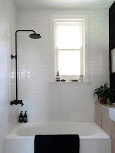 small bathroom in minimalist style