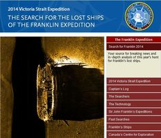 CanGeo: The Search for the Lost Ships of the Franklin Expedition
