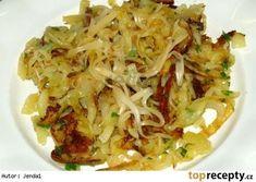 Potato Dishes, Potato Recipes, Vegetable Recipes, Vegetarian Recipes, Slovak Recipes, Czech Recipes, Ethnic Recipes, Top Recipes, Pasta Recipes