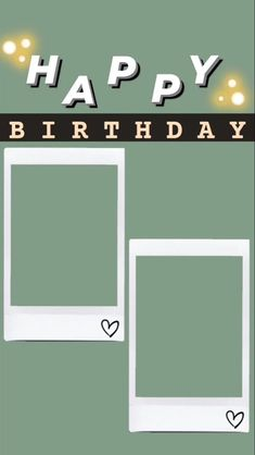 Happy Birthday Template, Happy Birthday Frame, Happy Birthday Posters, Happy Birthday Wallpaper, Birthday Posts, Friend Birthday, Birthday Captions Instagram, Birthday Post Instagram, Birthday Collage