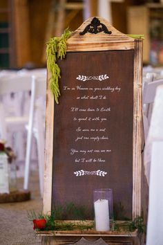The memory sign measures 38 x 17, and comes with the greenery and memory candle. Message can be personalized!