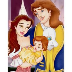 Belle and the Beast - Beauty and the Beast Photo (6382234) - Fanpop ❤ liked on Polyvore featuring disney, beauty and the beast and miscellaneous
