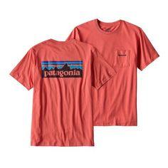 1d0130bc9 Patagonia Men's P-6 Logo Pocket T-Shirt Patagonia Shirts, Patagonia Outfit,