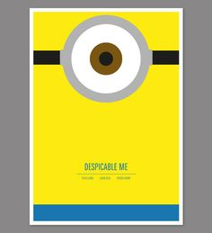 Despicable_Me in Creative Neon, Pictogram Movie Posters