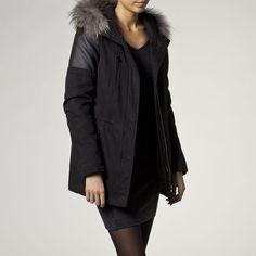 Parka femme IKKS (BE42155) | Vêtement Femme Hiver 14