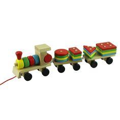 Barato Incrível de madeira brinquedos educativos de madeira empilhamento de trem de madeira de aprendizagem precoce brinquedos conjunto de 1, Compro Qualidade Carrinhos de brinquedo diretamente de fornecedores da China:        Frete grátis Educacional de madeira Brinquedos Crianças Train empilhamento de madeira blocos do bebê Early Learni