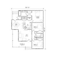 Wharton II floor plan