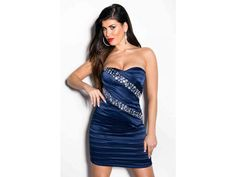 Party šaty KOUCLA skladem, PARTY PROM dress KOUCLA in stock, beautiful CRYSTALS ♥