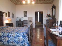 Gran Duke of Tuscany suite at Fattoria del Colle
