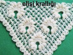 GELİN TACI MODELİ ŞAL YAPILIŞI Crochet Shawl, Crochet Stitches, Crochet Patterns, Projects To Try, Make It Yourself, Blanket, Knitting, Crocheting, Blog