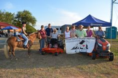 Heartland Horse Heroes Fundraiser/Lawn Mower Give-a-way