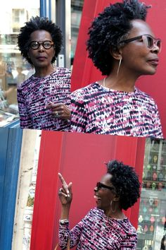 That Salt And Pepper Life - http://www.blackhairinformation.com/community/hairstyle-gallery/natural-hairstyles/salt-pepper-life/ #naturalhairstyles