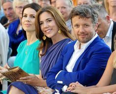 Crown Prince Frederik and Mary attended the ballet July 19, 2013