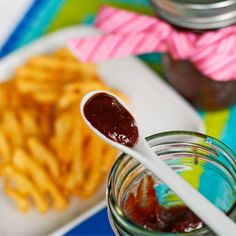 FAST Homemade Honey Barbecue Sauce