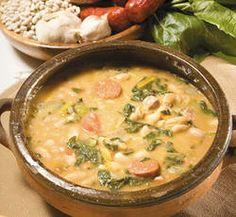 Sopa de acelgas y granos - Recetas - Estampas