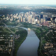"@djchopperboy's photo: ""Downtown #yeg"""