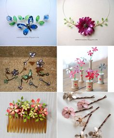 How To Make Wire And Nail Polish Flowers | DIY Craft  http://bit.ly/make-wire-and-nail-polish-flowers Project