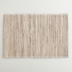 One of my favorite discoveries at WorldMarket.com: Natural Fiber and Lurex Placemats, Set of 4