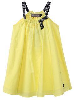 Jean Bourget Yellow Summer Dress - #buttontreekids #children #childrens #child #kids #cute #onlineshop #clothing #fashion #kidsfashion #childrensclothing #kidswear #jeanbourget #dress #pretty #spring #summer #preteen #littlegirls #girls #girlsclothing #dress #yellow #chic #dresses #holiday #birthday #quality #backtoschool (ButtonTreeKids.com)