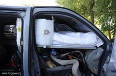 Cuna-cama para cualquier furgo.