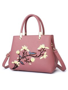 SHARE & Get it FREE | Faux Leather Flower Embroidered HandbagFor Fashion Lovers only:80,000+ Items • New Arrivals Daily • Affordable Casual to Chic for Every Occasion Join Sammydress: Get YOUR $50 NOW!