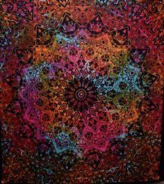 Hippie Tapestry Mandala Bohemian Tie Dye