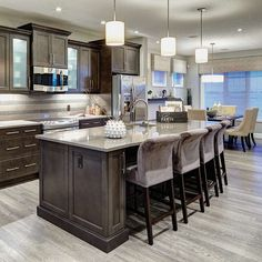 84 Best Dark Kitchen Cabinets Images Kitchen Interior Decorating