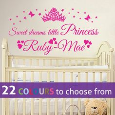 54 best personalised wall art stickers decals for baby s nursery