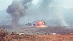 Air strikes for the 26th Marines; Khe Sanh, February, 1968