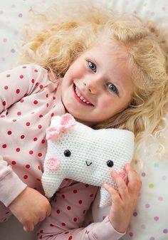 Ravelry: Tooth Fairy Pillow pattern by Ana Paula Rimoli
