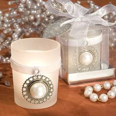 Lace And Pearl Centerpieces | Bridgeey's blog: If it 39s these sophisticated wedding signs from ...