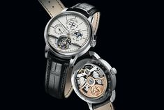 Back is Beautiful: 11 New Luxury Watch Wallpapers - Jaeger-LeCoultre Master Grande Traditon Tourbillon Cylindrique à Quantième Perpétuel Jubilee (price on request)
