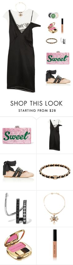 """Young"" by candynena228 ❤ liked on Polyvore featuring Edie Parker, R13, Miu Miu, Maria Black, Lisa Eisner, Dolce&Gabbana, Bobbi Brown Cosmetics and The Body Shop"