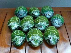 Free tutorials for painting on rocks | Rock painting photo - Green Turtles photo P1460594Medium.jpg