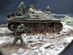 Dioramas and Vignettes: StuG III in action, photo #9