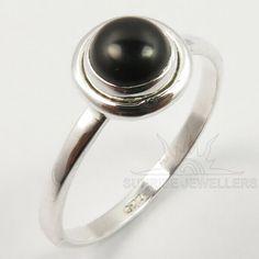 Mens Sterling Silver Necklace, Silver Jewellery Indian, Black Onyx Ring, Small Rings, Handmade Rings, Blue Topaz Ring, Gemstone Rings, Gemstones, Key
