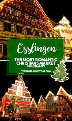 A series of photos of the Esslingen Christmas Market, just outside of Stuttgart, Germany. #Europe #Christmas #travel