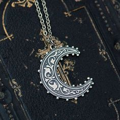 Crescent Moon Necklace | Modern Mouse
