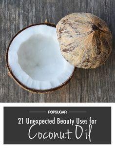 Pin for Later: 21 Verwendungsmöglichkeiten von Kokosöl als Beauty-Produkt