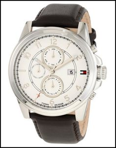 TOMMY HILFIGER MEN'S 1710294 LEATHER STRAP – REVIEW