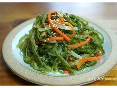 [미역줄기볶음] 천원 반찬 - 미역줄기 볶음 맛있게 만드는법