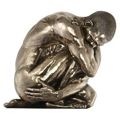 Found it at Wayfair - Inner Reflection Modern Nude Male Statue
