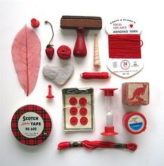 Valentine's Curiosity, Red Instant Collection by WaveSong on Etsy, $30.00